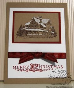Christmas Lodge by LaurenMullarkey - Cards and Paper Crafts at Splitcoaststampers