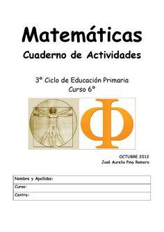 Cuadern de matematicas 6o año
