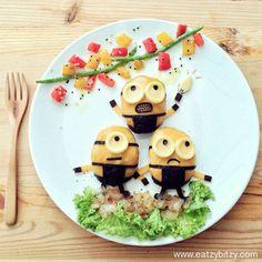 Minions Food Art