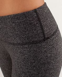 Lululemon herringbone leggings.  Checked the online store, unfortunately did not find although they are a pricy place to shop anyway.  I can imagine this being a staple item if it fit well enough, though..