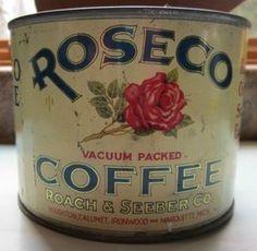 Roscoe Vacuum Packed Coffee