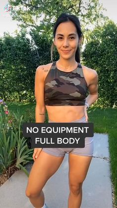 Full Body Workouts, Fitness Workouts, Full Body Workout No Equipment, Gym Workout Videos, Gym Workout For Beginners, Fitness Workout For Women, Sport Fitness, Butt Workout, Fitness Inspiration