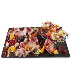 Un buffet froid de charcuterie pr sentation simple et esth tique buffet froid possible - Omhullen een froid rouge ...