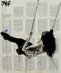 "Saatchi Art Artist Loui Jover; Drawing, ""where nothing matters at all"" #art"