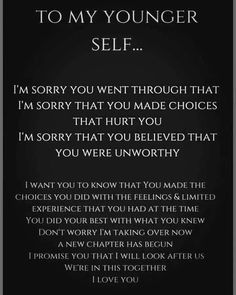 Inner Child Healing, Self Healing, Mental And Emotional Health, Emotional Healing, Emotional Abuse, Mantra, Inner Child Quotes, Meaningful Quotes, Inspirational Quotes