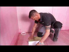 Slik legger du fuktsperre og membran på våtrom - video fra Weber