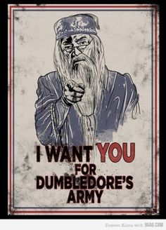Dumbledore's Army poster