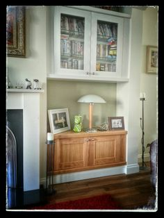Display and storage units in natural and painted American White Oak by jdwoodwork.co.uk Furniture, Cabinet, White Oak, Bookcase, Entryway Tables, Home Decor, Custom Woodworking, Oak, Storage Unit