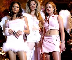 A Cinderella Story - The Angels Cinderella Halloween Costume, Pink Halloween Costumes, Halloween Inspo, Trio Costumes, Costume Ideas, Mean Girls Halloween, Another Cinderella Story, 2000s Fashion Trends, Baddie