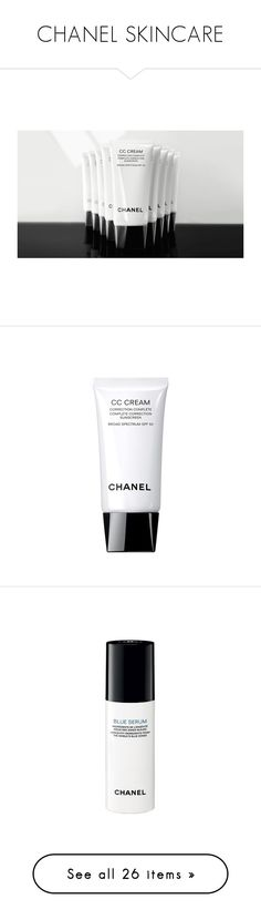"""CHANEL SKINCARE"" by karalaska ❤ liked on Polyvore featuring beauty products, makeup, face makeup, tinted moisturizer, skincare, face care, face moisturizers, chanel skin care, chanel and chanel skincare"