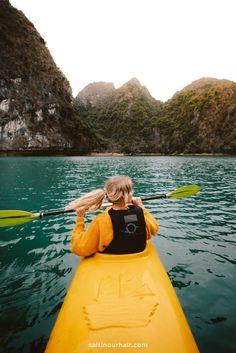 Incredible experience! Kayaking in Ha Long Bay