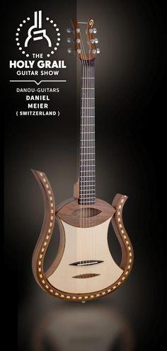 Exhibitor at The Holy Grail Guitar Show 2014:  Daniel Meier, danou-guitars, Switzerland http://www.danou-guitars.ch