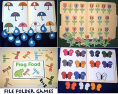 DIY~ File Folder Games By Grace