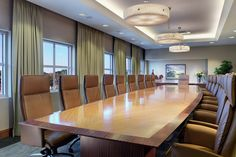 Boardroom ceiling