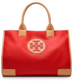 Ella Tote  ToryBurch.com  Just in case my husband is stumped on what to get me for mother's day:)