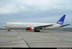 SAS - Scandinavian Airlines Boeing 767-300 LN-RCE