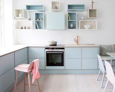 Culture-køkken i pastelfarver | Tvis Køkkener