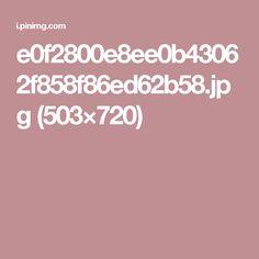 e0f2800e8ee0b43062f858f86ed62b58.jpg (503×720)