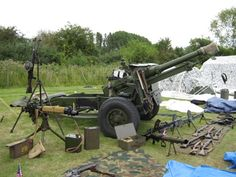 #WW2, #WWII - The British 25 Pounder artillery gun