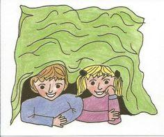 Mit jemandem unter einer Decke stecken = To secretively do something with someone – to plan or have done something secretly with someone.