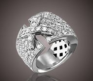 Lien de Chaumet, to die for #1 pave diamond band ring out there