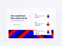 Daily UI 39 — Testimonials by Rebecca Norén on Dribbble Card Ui, Creer Un Site Web, Daily Ui, Ui Web, Branding, Web Design Trends, Web Layout, Website Design Inspiration, Page Design
