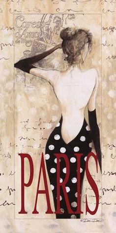 Paris Lady CROSS STITCH PATTERN 389 by Maxispatterns on Etsy, €5.90