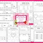 Time-saving valentine literacy centers and writing activities!