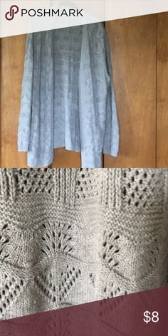 Women's Plus Size no close cardigan For sale is gently used women's Plus size no close cardigan. cj banks Sweaters Cardigans
