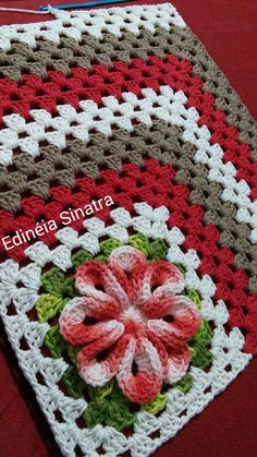 Crochet Patterns Modern three piece string kitchen set, being a crosswalk, and two t . Granny square with interesting color combination crochet grannysquare grannythrow blanket afghan – Artofit rose, crochet, can be a nice d - Salvabrani kitchen set of Crochet Cushions, Crochet Quilt, Crochet Blocks, Crochet Pillow, Crochet Squares, Crochet Granny, Crochet Doilies, Crochet Flowers, Crochet Stitches