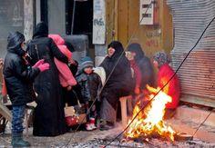 Die Bedingungen für die Menschen in Aleppo sind furchtbar. Am Dienstag hat es...