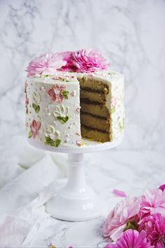 Vegan Coconut and Chocolate Cake
