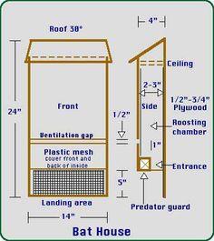 Easy Diy Bat House   House And Home Design