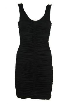 Every fashionista knows the Little Black Dress. And the truth is you can never have enough LBD's, they are multi-functional and can be worn to every occasion! This LBD has a beautiful rimple effect and has a body con fit. The dress is short, perfect for a night out.  www.2dayslook.com