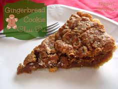 Gluten-Free Gingerbread Chess Pie - No corn-syrup