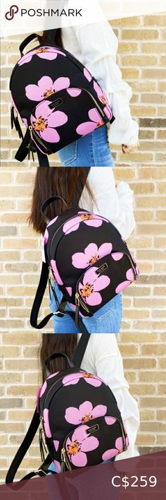 Kate Spade Flower Nylon Backpack Brand new with tags💞 kate spade Bags Backpacks Kate Spade Pink, Kate Spade Bag, Backpack Brands, Plus Fashion, Fashion Tips, Fashion Trends, Backpacks, Brand New, Tags