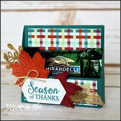 Stampin' Up!® Gather Together Treat Box - Stampin' Anne - 2019 Holiday Catalog Christmas Craft Fair, Christmas Gift Box, Christmas Projects, Christmas Ideas, Christmas Eve, Treat Holder, Treat Box, Stampin Up, Slumber Party Games