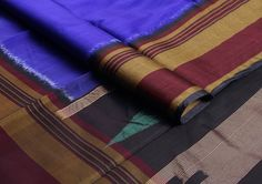 #Violet in the body and a #darkmaroon and mustard border to go along. #Evergreen #classic combo!