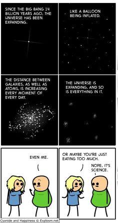 It's science, bitch!
