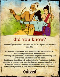 Now this is a mind-boggling fact from the Ramayana!  How many of you'll knew about it?  Be Balanced. Be Natural. Be You. - Omved