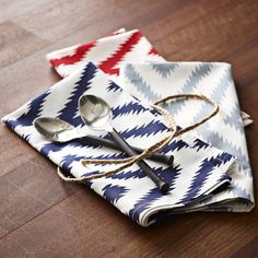 Safari Cotton Napkin Set | west elm