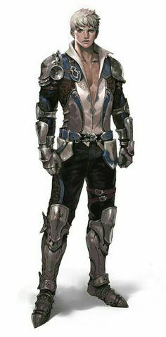Human Fighter Knight - Pathfinder PFRPG DND D&D d20 fantasy