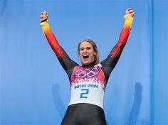 Sochi 2014 Day 5 - Luge Women's Singles (Natalie Geisenberger of Germany Gold medalist)