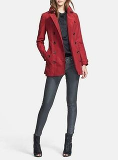 The classic red trench coat | Burberry