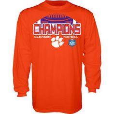 Clemson Tigers 2015 ACC Champions Long Sleeve T Shirt