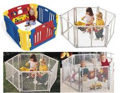 Baby Safety Gate Play Yard Superyard Children Fence Playpen Toys Indoor  Outdoor | Playpen, Play Yard And Baby Safety