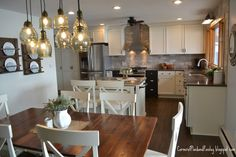Our fixer upper kitchen has been transformed into a totally updated and open place to cook and gather! Just to remind you what we start. Fixer Upper Kitchen, Savvy Southern Style, Plate Racks, Kitchen Decor, Kitchen Ideas, Cool Furniture, Furniture Stores, Colorful Decor, Kitchen Remodel