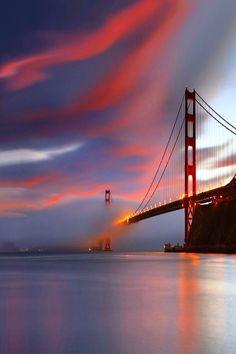 Golden Gate Bridge of San Francisco!  #baycityguide #sanfrancisco