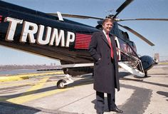 Before entering politics, take a look at these images to see the life of the 45th and current President of the United States Donald Trump when he was a businessman