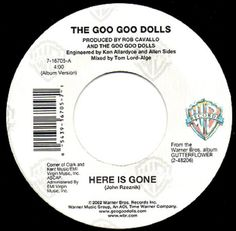 The Goo Goo Dolls* - Here Is Gone (Vinyl) at Discogs